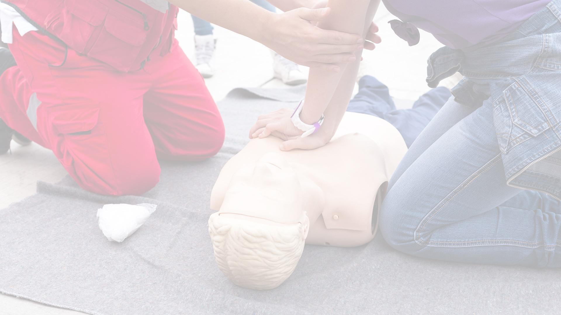 Entrainement sauveteur victime - Formation secourisme Lyon - PrevInter