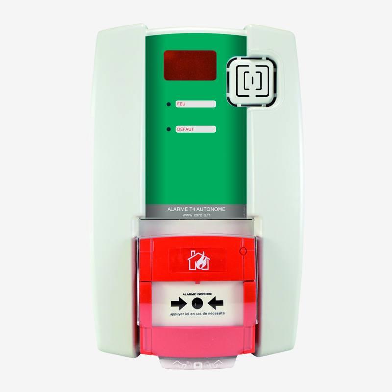 Alarme Incendie type 4 à pile - Prev'Inter