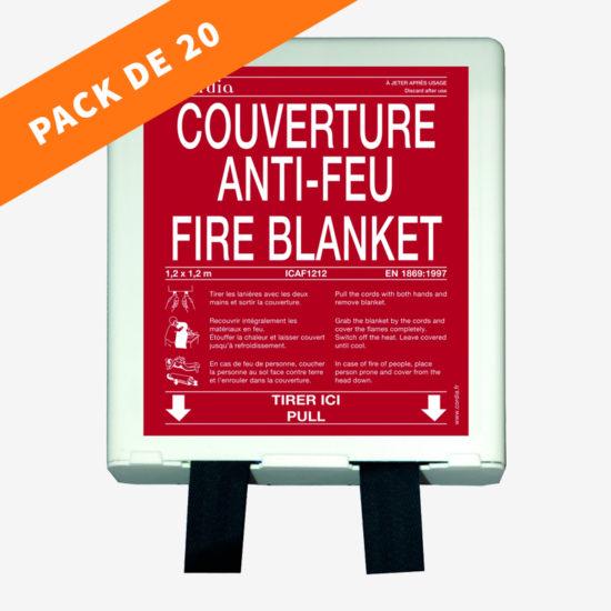 Pack couverture anti-feu rigide (20 unités)