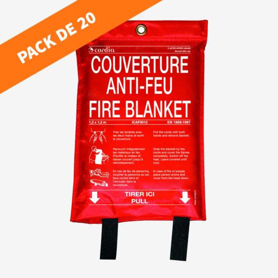 Pack couverture anti-feu souple (20 unités)