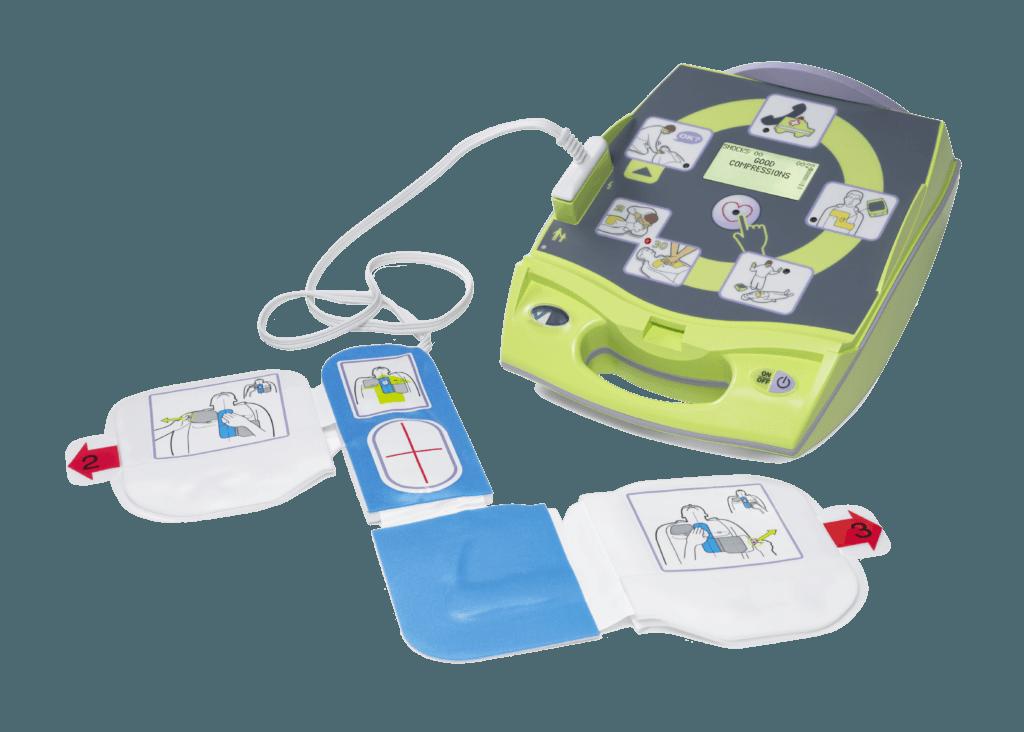 Défibrillateur Zoll AED Plus - Prev'Inter