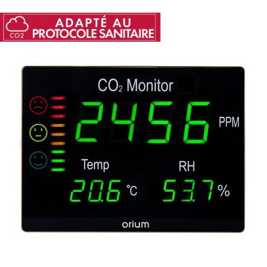 Mesureur de qualité de l'air intérieur Quaelis 12