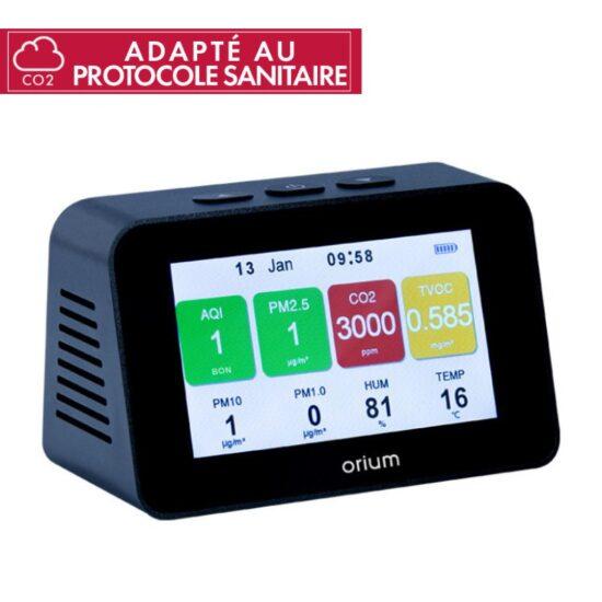 Mesureur de qualité de l'air intérieur Quaelis 34